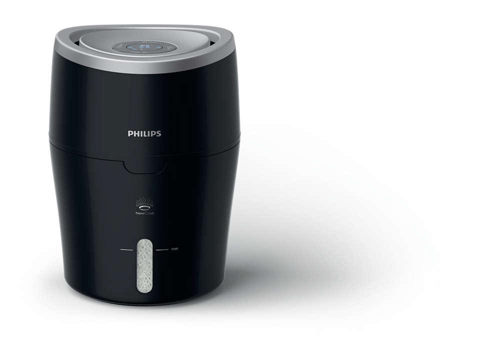 Philips - Series 2000 Humidifier With NanoCloud HU4813/10