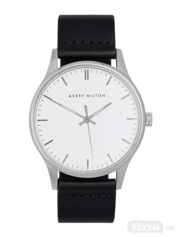 Avery Milton Como Black Silver/White 1193401220 Unisexklocka