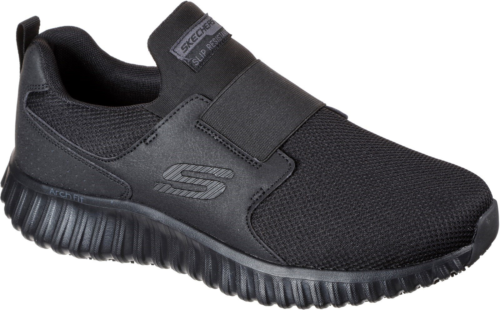 Skechers Unisex Cicades Trainer Black 32309 - Black 6