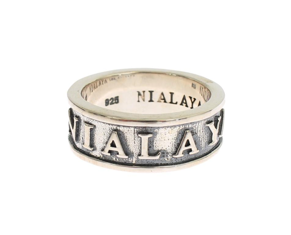 Nialaya Women's Sterling 925 Ring Silver SIG19130 - EU66 | US12