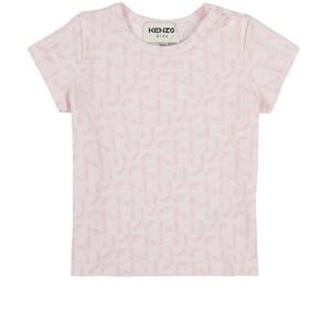 Kenzo Multi Logo T-shirt Rosa 6 mån
