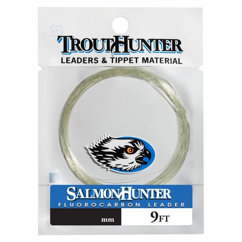 TH SalmonHunter Fluorcarbon Leader 9ft 0,370 mm