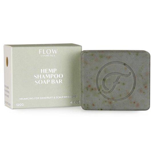 Flow Cosmetics Ekologisk Schampotvål Hampa, 120 g