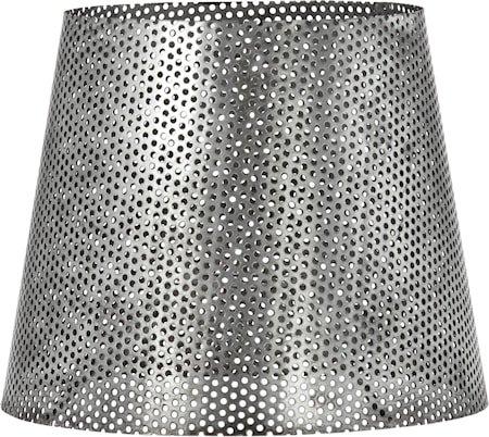 Mia hullet Lampeskjerm Antikk sølv 17 cm