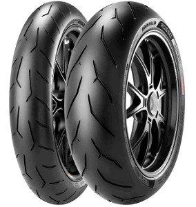 Pirelli Diablo Rosso Corsa ( 120/70 ZR17 TL (58W) M/C, etupyörä )