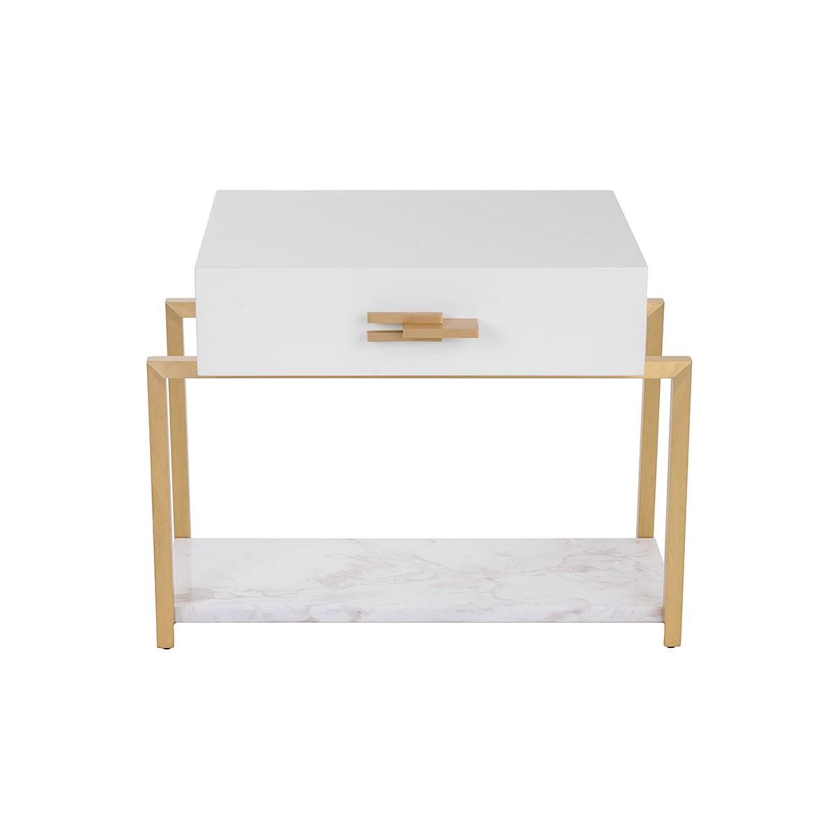 The Naima Bedside Table