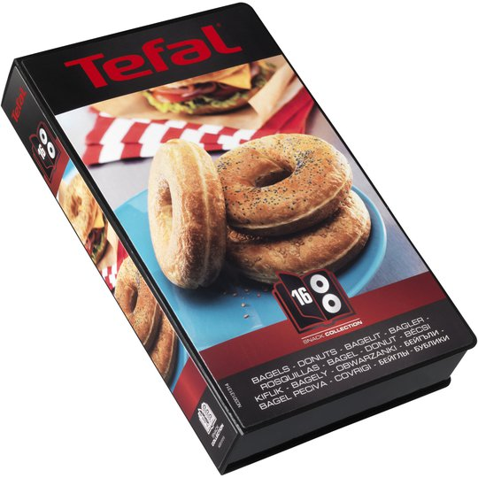Tefal Snack Collection plattor: Bagels / donuts (16)