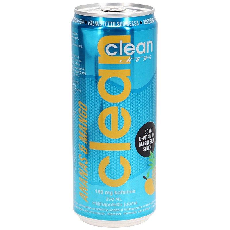 Clean BCAA Ananas & Mango Urheilujuoma - 40% alennus