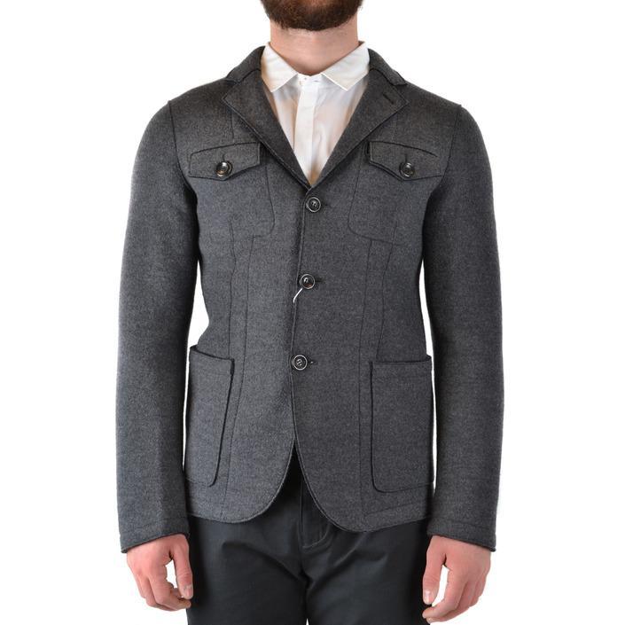 Armani Collezioni Men's Blazer Grey 170426 - grey 48