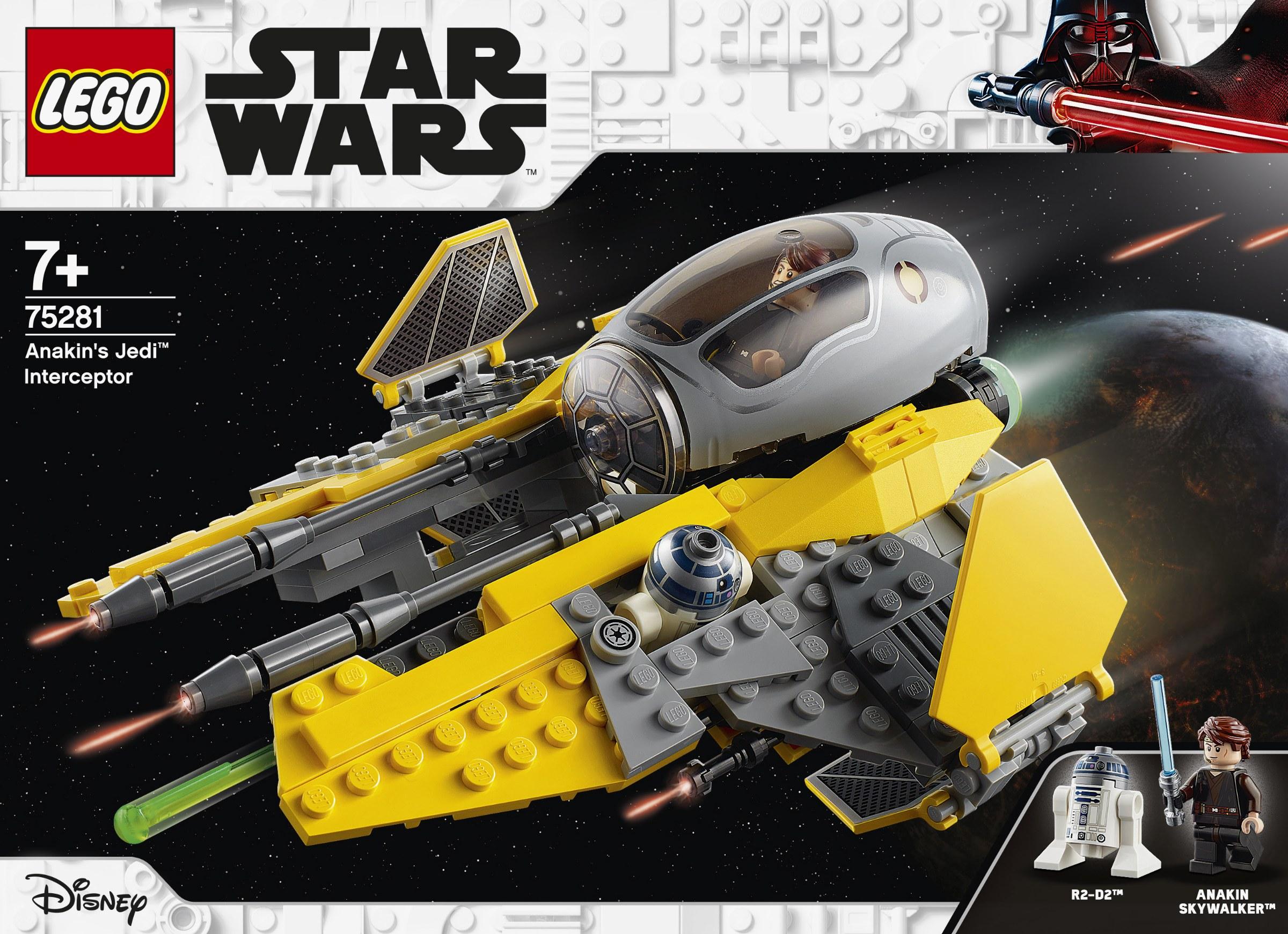 LEGO Star Wars - Anakin's Jedi Interceptor (75281)