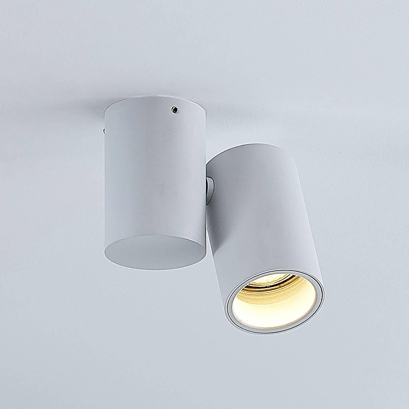 Kattovalaisin Gesina, 1-lamppuinen, valkoinen