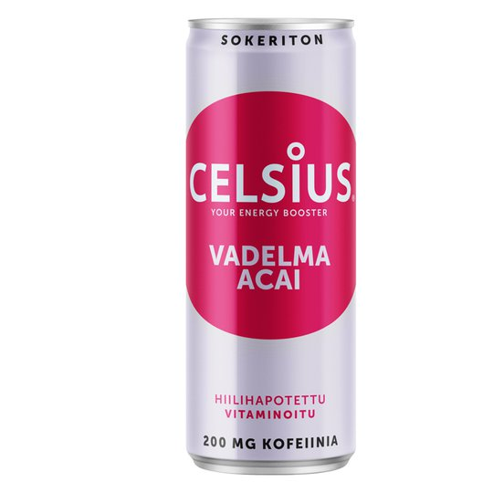 Celsius Vadelma & Acai - 39% alennus