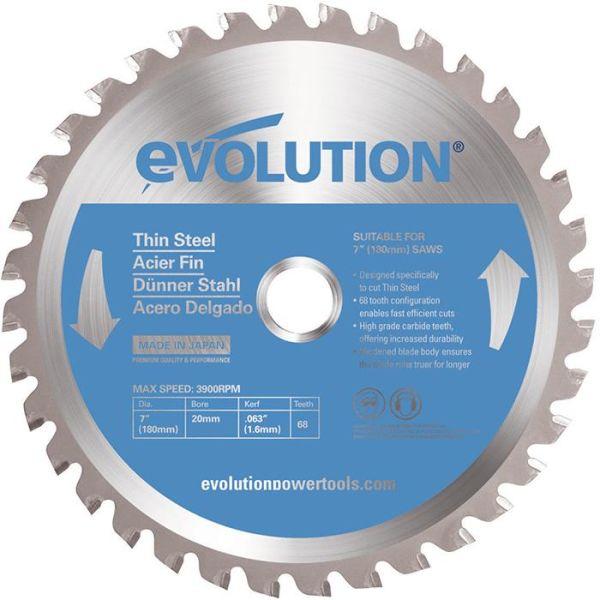 Evolution EV180ST Sagklinge 180 x 2,0 x 20 mm, 68 T