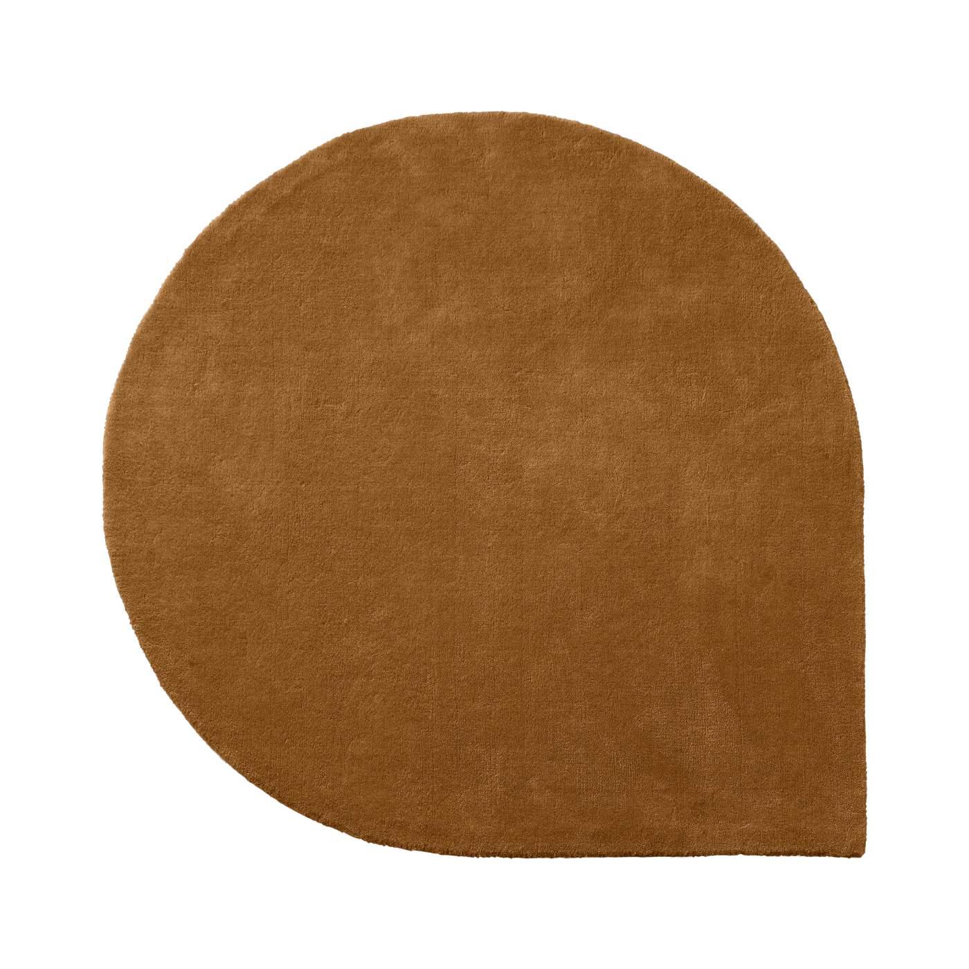 Droppformad matta STILLA amber small, AYTM