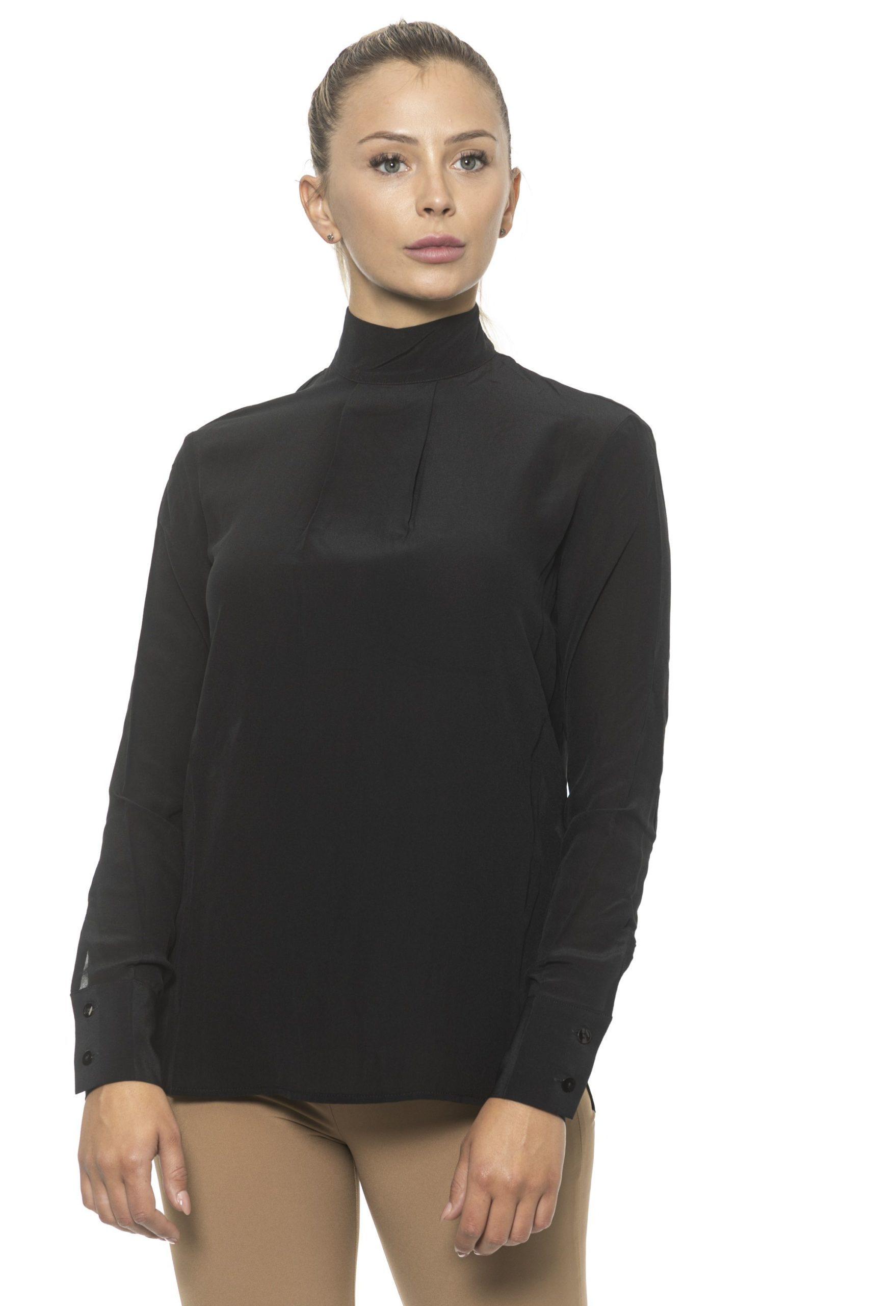 Alpha Studio Women's Nero Sweater Black AL1314770 - IT42 | S