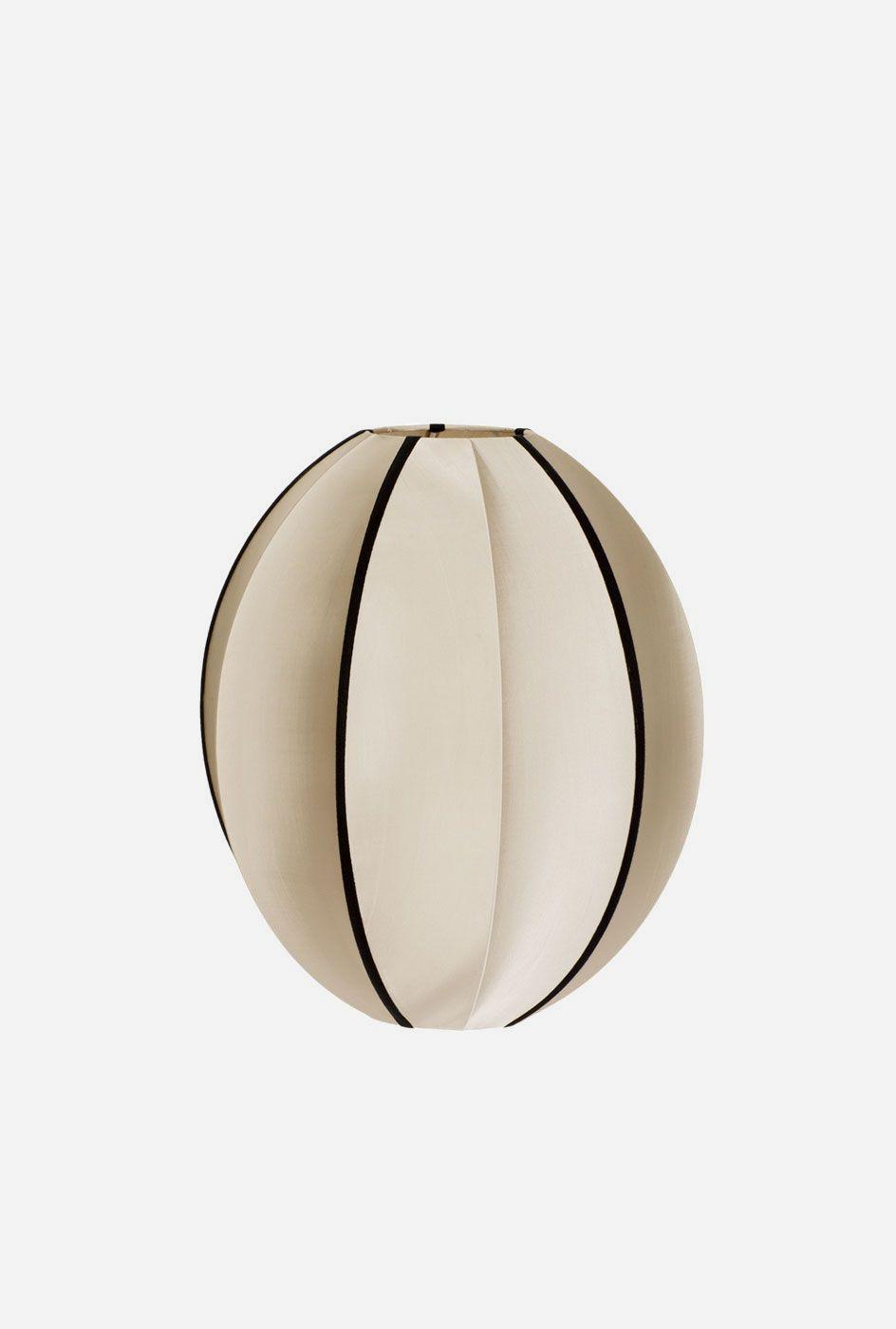 Taklampa silk Oval 35x40 cm classic