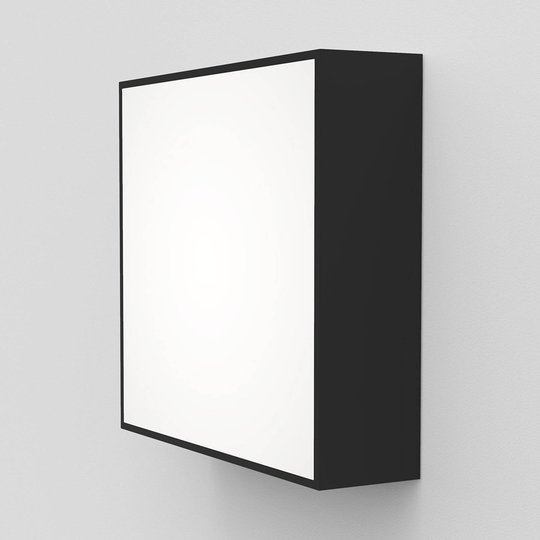 Astro Kea Square 240 LED-vegglampe, svart