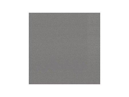 Serviett 3-lags 33 x 33 cm granittgrå (125)