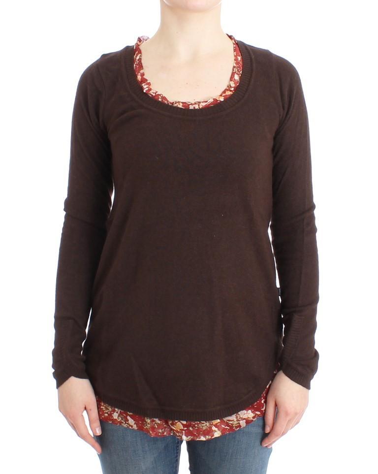 Cavalli Women's Sweater Brown SIG11984 - IT40|S
