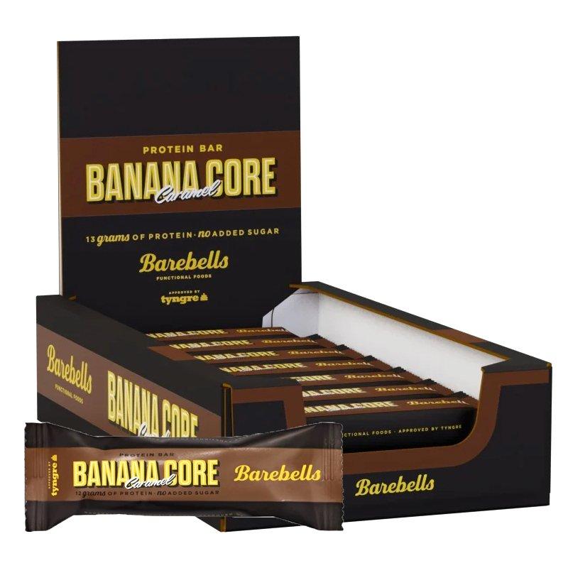 Proteiinipatukat Banana Caramel Core 18kpl - 49% alennus