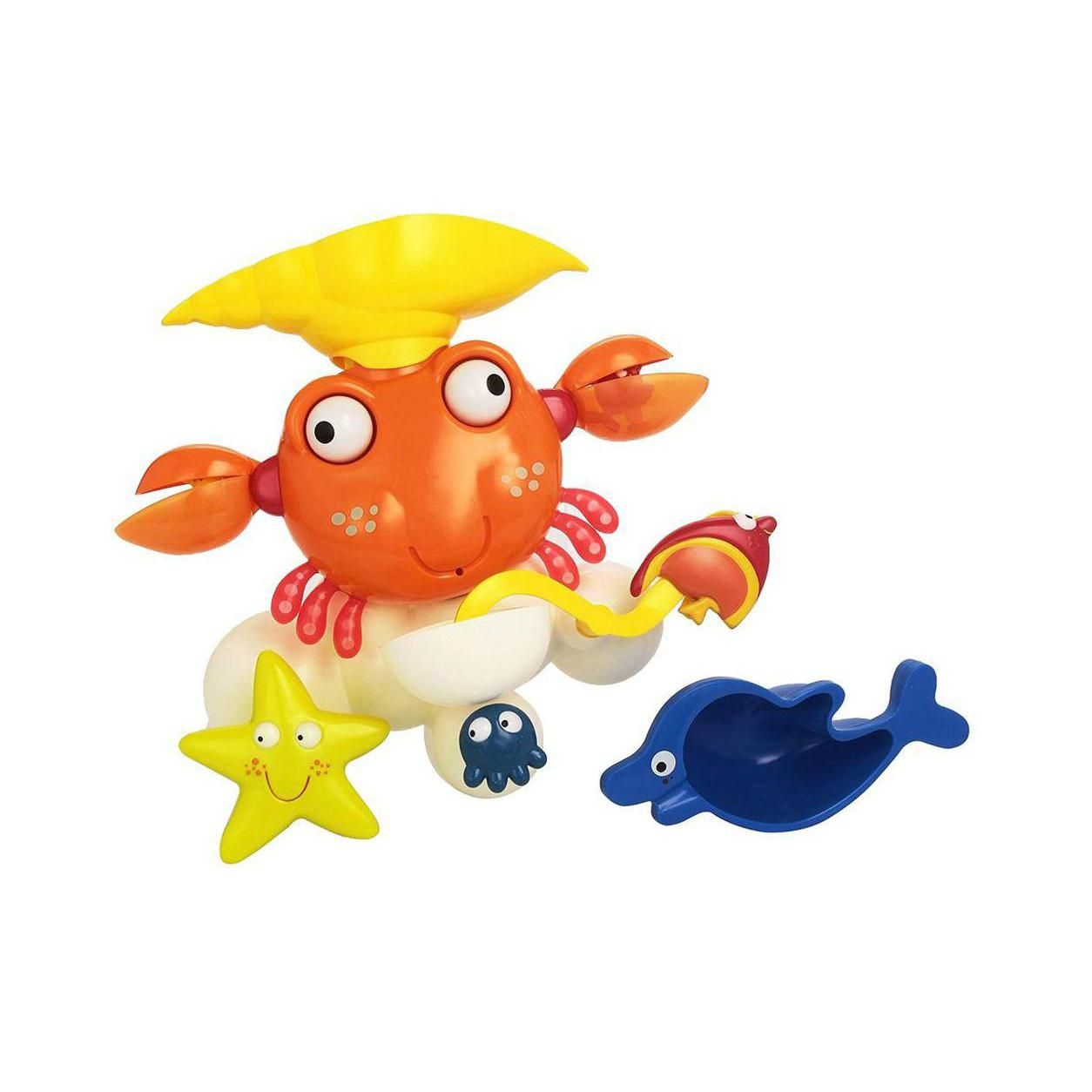 Lexibook - Bath Toy with full activities play set in shape of a Crab (IT025)