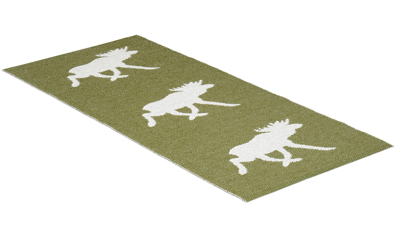 Moose grønn - plastteppe