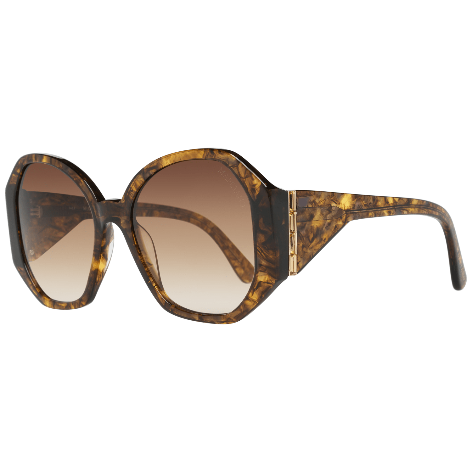 Guess By Marciano Women's Sunglasses Brown GM0809-S 6050G
