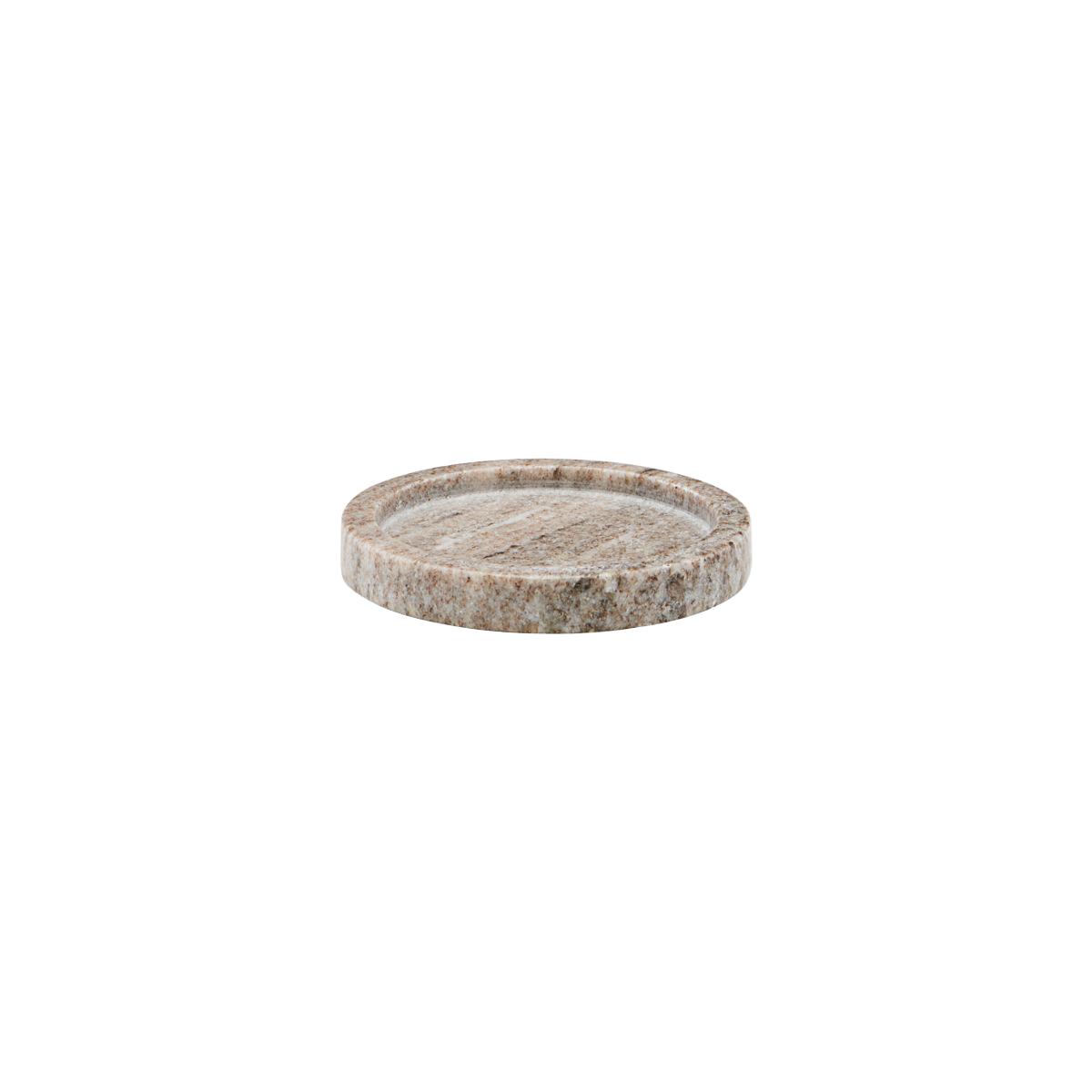 Meraki - Marble Tray Ø 12,5 cm - Beige (312530015/mkma015)