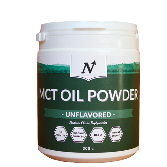 MCT Oil Powder - Unflavored, 300 g