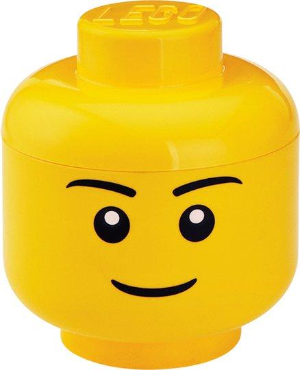 LEGO Oppbevaring S Gutt, Gul