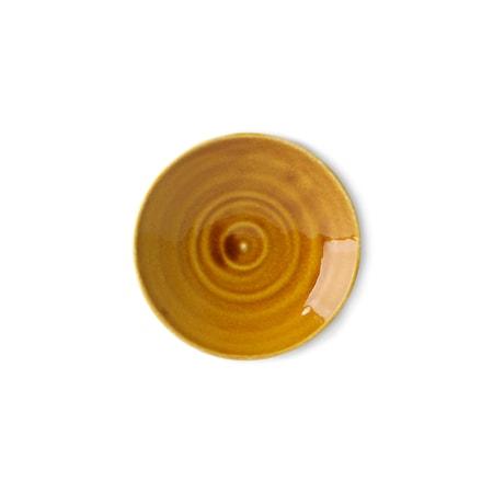 Kyoto ceramics Japansk Tallrik liten Brun