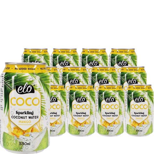 Hiilihapollinen Kookosvesi Mango - 33% alennus