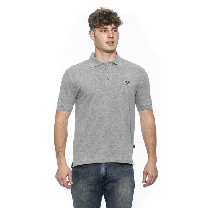 19v69 Italia Men's Polo Shirt Grey 185380 - grey XL