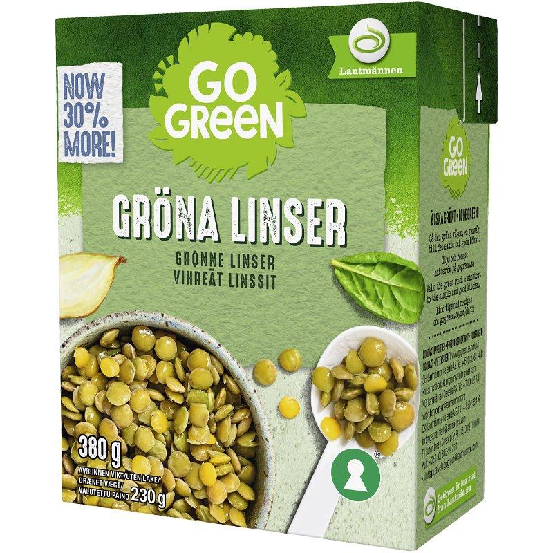 Vihreät Linssit - 8% alennus