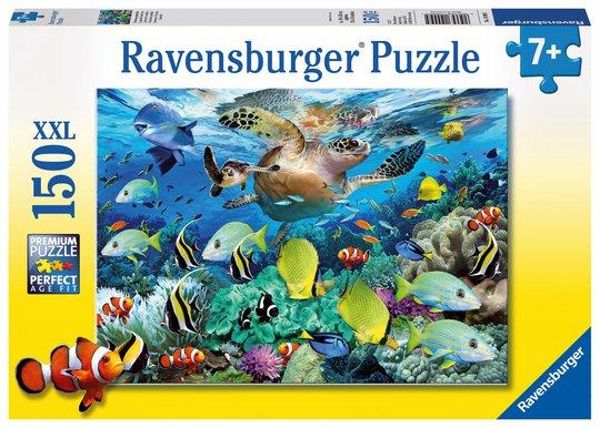 Ravensburger Puslespill Undervannsparadis 150 Biter