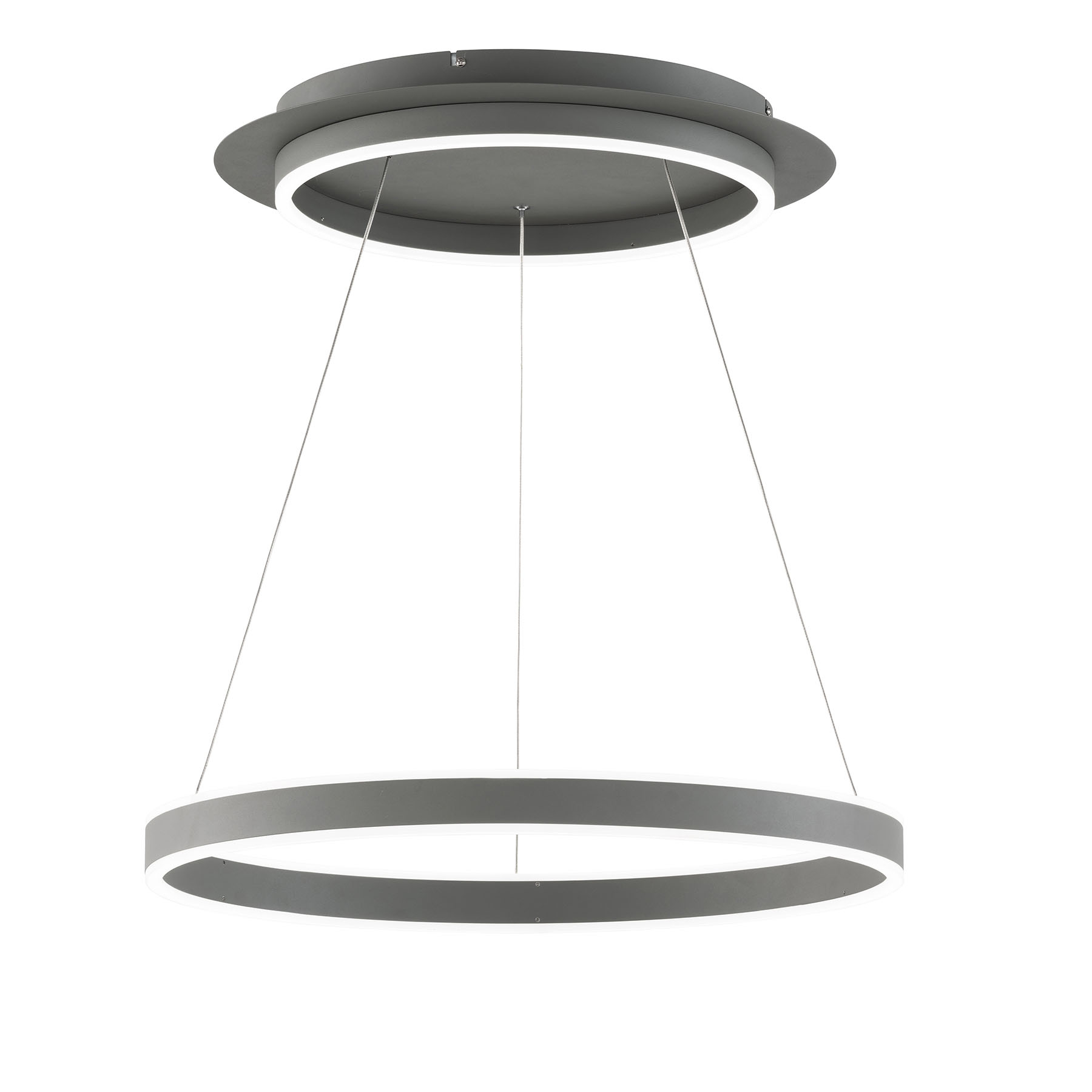 LED-riippuvalaisin Kemi, kaukosäädin, pyöreä