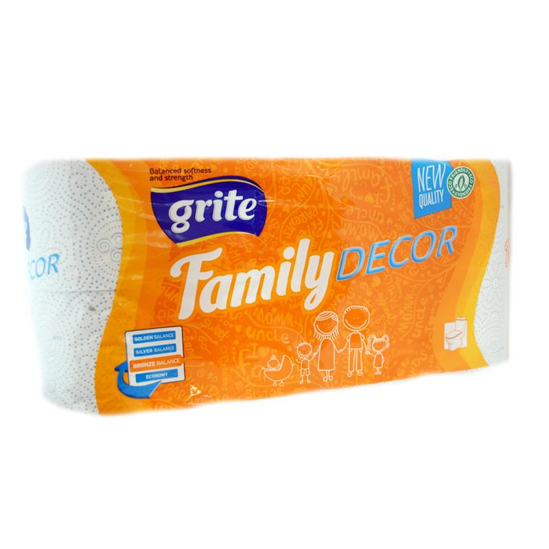 Toalettpapper Family - 27% rabatt