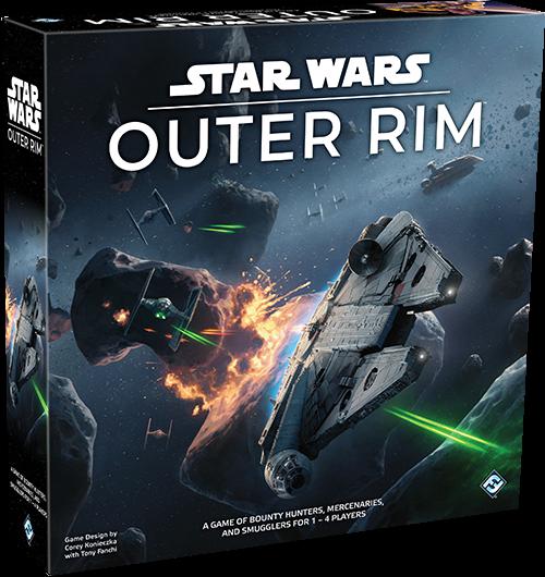 Star Wars - Outer Rim Boardgame (FSW06)