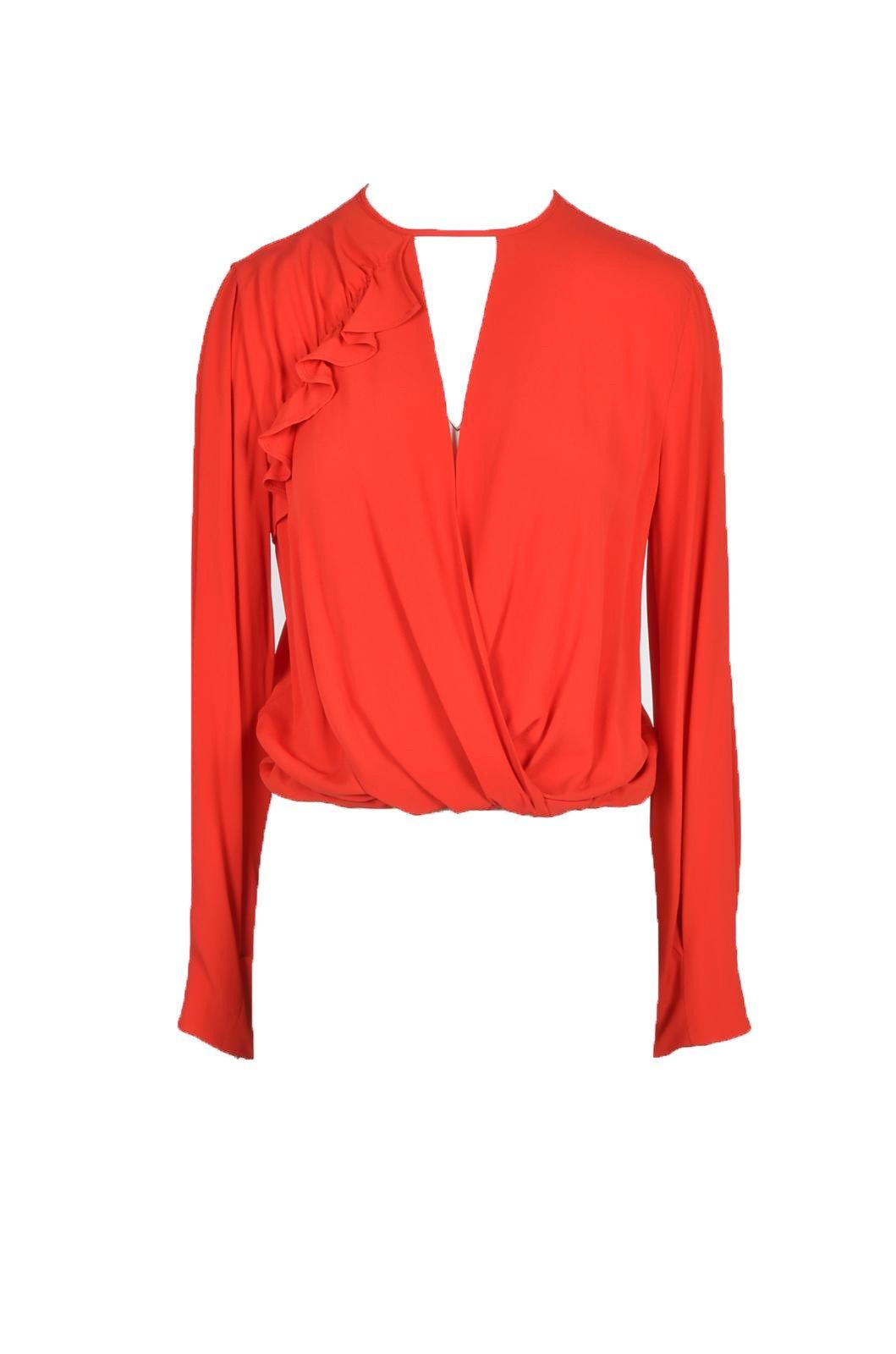 Pinko Women's T-Shirt Multicolor 263155 - red 40