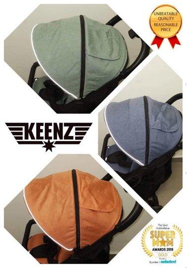 Keenz Air Plus Kalesje & Pute, Grønn