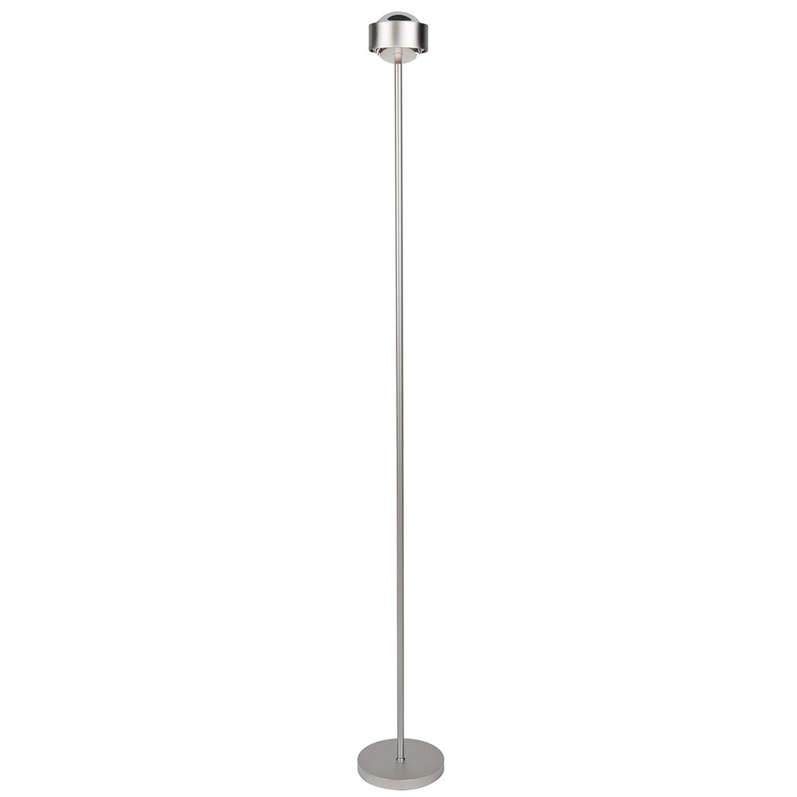 Slank stålampe PUK EYE krom matt