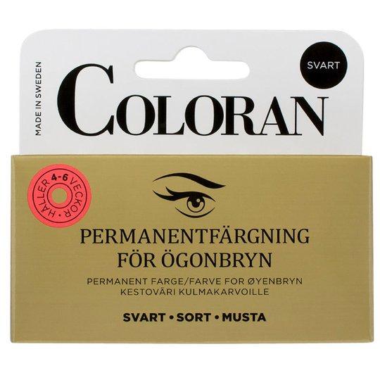 Eyebrow Colour, 8 ml Coloran Kulmävärit & trimmerit