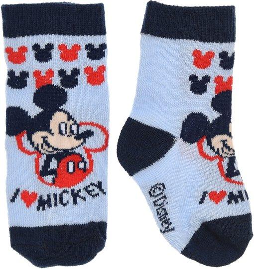 Disney Mikke Mus Sokker, Light Blue 0-6mån