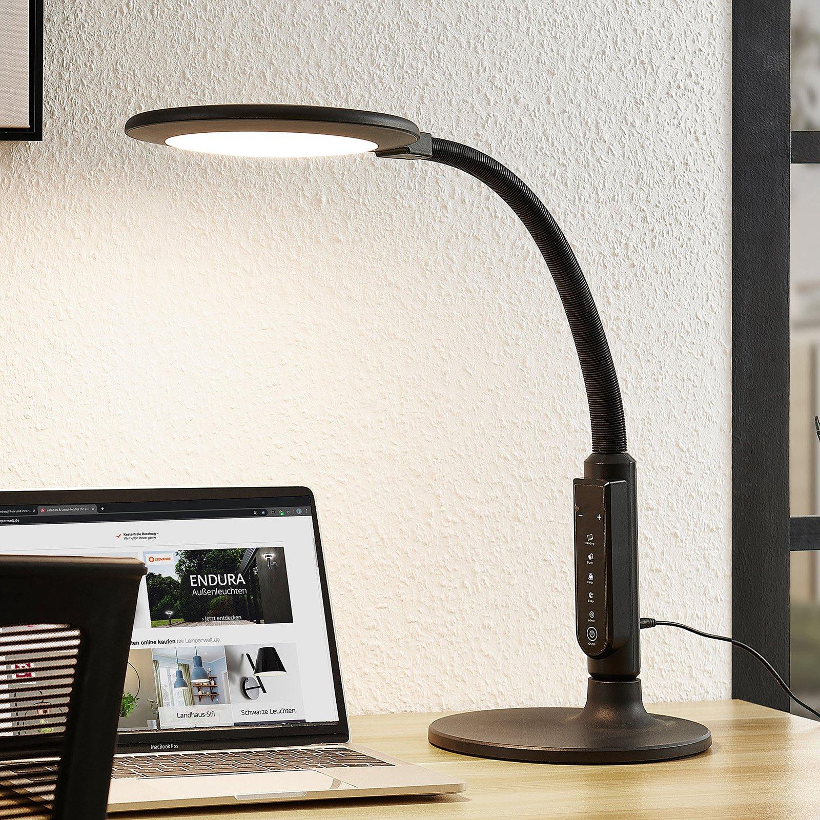 Arcchio Hanke LED-skrivebordslampe, dimbar