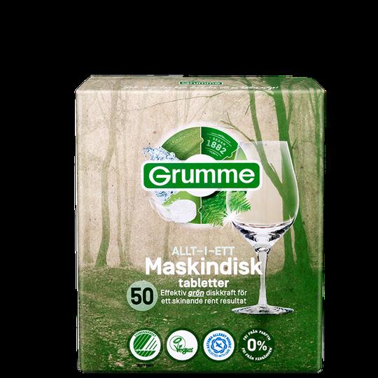 Grumme Maskindisk, 50 tabletter