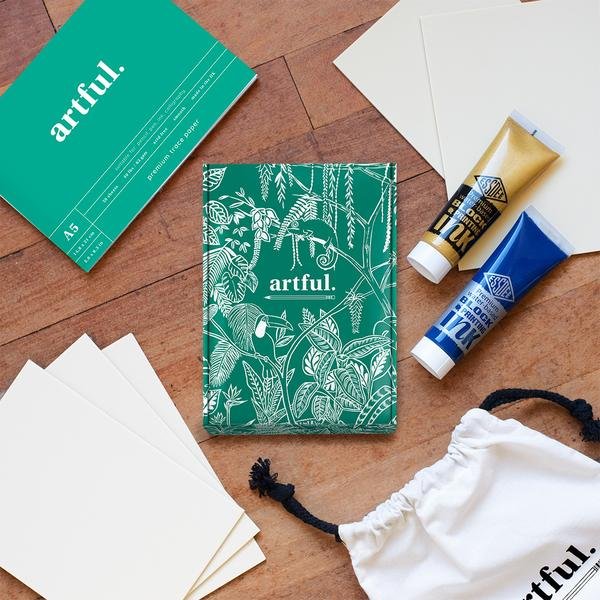 The Artful Lino Printing Upgrade Box