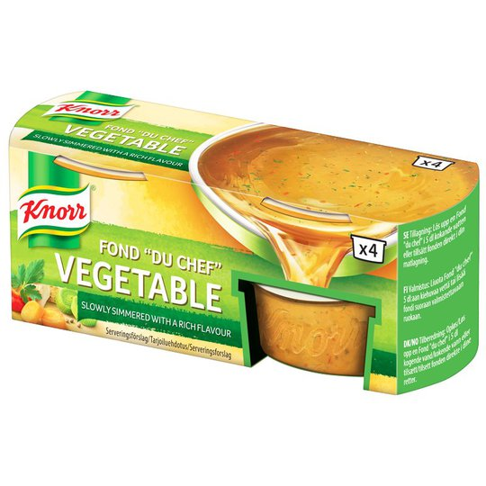 Fond Koncentrerad Vegetable 4-pack - 28% rabatt