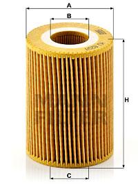 Öljynsuodatin MANN-FILTER HU 820/1 y