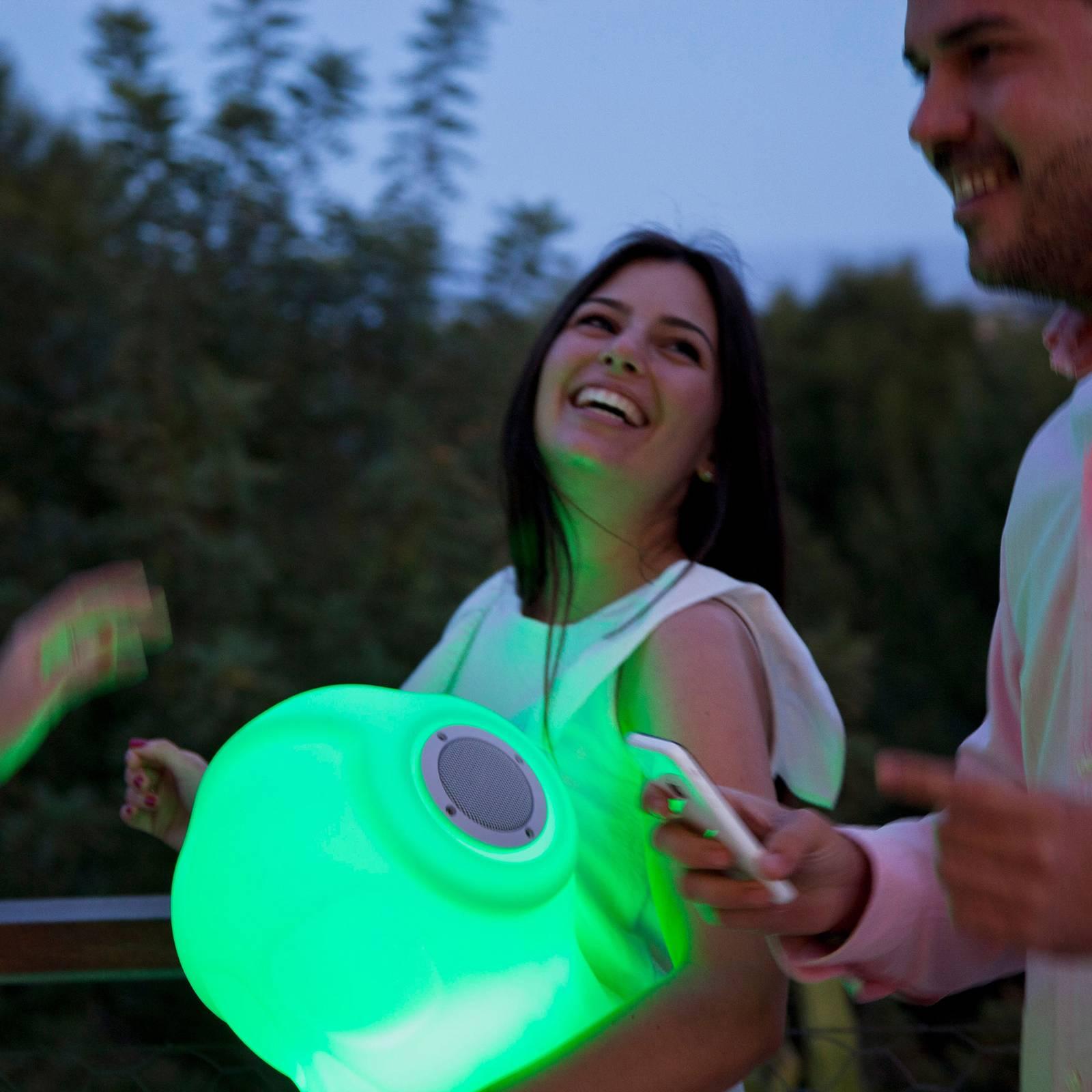 Newgarden Robin -LED-valaisin kaiuttimella