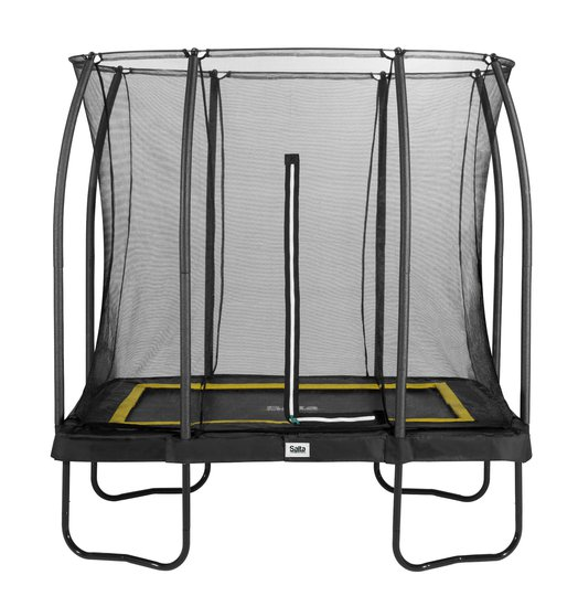 Salta Trampoline Comfort Edition 214x153 Cm, Svart
